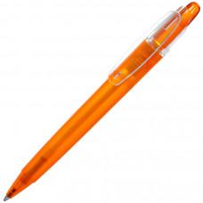OTTO FROST, ручка шариковая, фростированный оранжевый, пластик