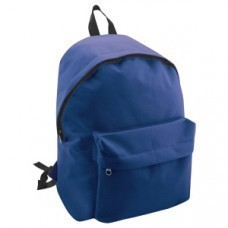 "Рюкзак ""Discovery""; синий; 29х39х12 см; полиэстер; шелкография"