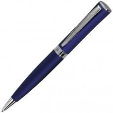 WIZARD, ручка шариковая, синий/хром, металл