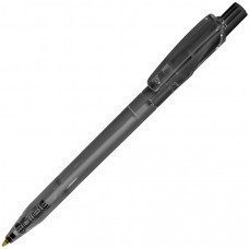 TWIN LX, ручка шариковая, прозрачный черный, пластик