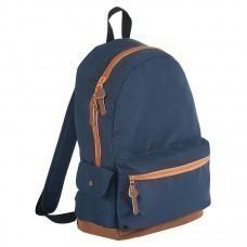 "Рюкзак ""PULSE"", синий/оранжевый, полиестер  600D, 42х30х13 см, V16 литров"