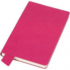 """Бизнес-блокнот А5  """"Provence"""", розовый , мягкая обложка, в клетку"""