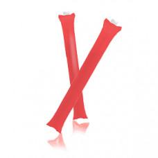 """Палки-стучалки надувные """"Оле-Оле"""" ; красный; 60х10 см., ПВХ;"""