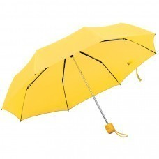 """Зонт складной """"Foldi"""", механический, желтый"""