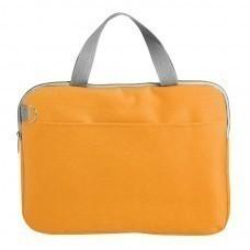 """Конференц-сумка """"Тодес-2"""" отделением для ноутбука, оранжевый, 40*30*2,5 см; полиэстер 600D; шелкогр"""