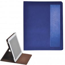 "Чехол-подставка под iPAD ""Смарт"",  синий,  19,5x24 см,  термопластик, тиснение, гравировка"