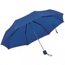 """Зонт складной """"Foldi"""", механический, темно-синий,"""