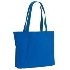 """Сумка для покупок """"Felt""""; синяя; 39х33х8 см; фетр"""