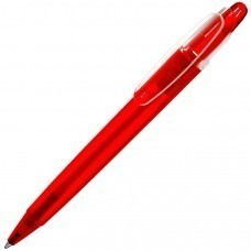 OTTO FROST, ручка шариковая, фростированный красный, пластик