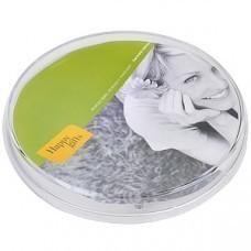 Монетница прозрачная круглая; 17,2х17,2х2,4 см; пластик; полноцветная печать на вставку