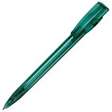 KIKI LX, ручка шариковая, прозрачный зелёный, пластик