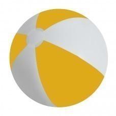 """Мяч надувной """"ЗЕБРА"""", желтый, 45 см, ПВХ"""