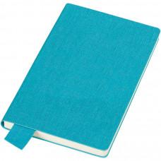 """Бизнес-блокнот А5  """"Provence"""", голубой , мягкая обложка, в клетку"""