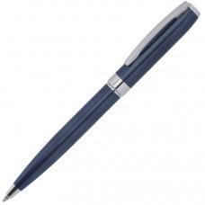 ROYALTY, ручка шариковая, синий/серебро, металл, лаковое покрытие