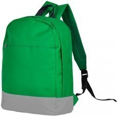 "Рюкзак ""URBAN"",  зеленый/серый, 39х29х12 cм, полиестер 600D,  шелкография"