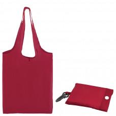 """Сумка для покупок """"Shopping""""; красный; 41х38х0,2 см (в сложенном виде 8,5х12х1см); Полиэс; шелкограф"""
