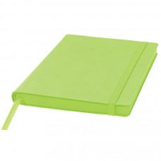 Ежедневник недатированный Shady, А5,  зеленое яблоко, кремовый блок, зеленый обрез