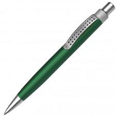 SUMO, ручка шариковая, зеленый/серебристый, металл