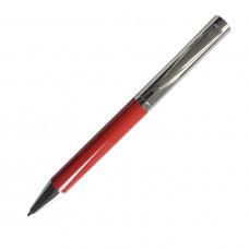 JAZZY, ручка шариковая, хром/бордовый, металл