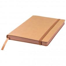 Ежедневник недатированный Shady, А5,  светло-коричневый, кремовый блок, коричневый обрез