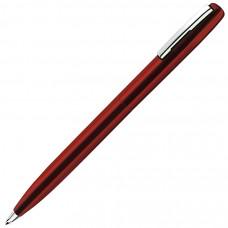 CLICKER, ручка шариковая, красный, металл
