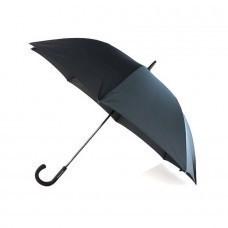 Зонт-трость CAMPBELL,черный, эпонж, пластик