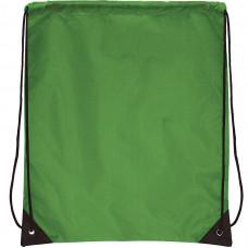 "Рюкзак ""Promo""; зеленый; 33х38,5х1см; полиэстер; шелкография"