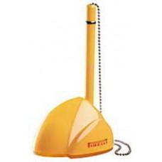 STILL, ручка шариковая с держателем, желтый, пластик