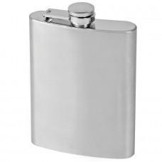 """Фляжка  """"Silver""""; 235 мл; металл; лазерная гравировка"""