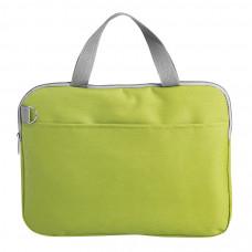 """Конференц-сумка """"Тодес-2"""" отделением для ноутбука, зеленый, 40*30*2,5 см; полиэстер 600D; шелкогр"""