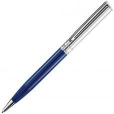 VOYAGE, ручка шариковая, синий/хром, металл