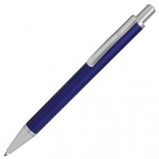 CLASSIC, ручка шариковая, синий/серебристый, металл