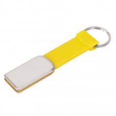 "USB flash-карта ""Flexi"" (8Гб), желтый, 8,5х2х0,5 см, металл, пластик"