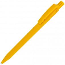TWIN, ручка шариковая, желтый, пластик