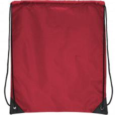 """Рюкзак """"Promo""""; красный; 33х38,5х1см; полиэстер; шелкография"""