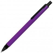 IMPRESS, ручка шариковая, фиолетовый/черный, металл