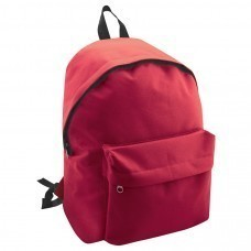 "Рюкзак ""Discovery""; красный; 29х39х12 см; полиэстер; шелкография"
