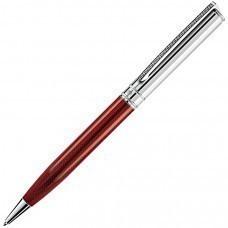VOYAGE, ручка шариковая, красный/хром, металл
