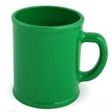 """Кружка """"Радуга""""; зеленая, D=7,9см, H=9,6см, 300мл; пластик; тампопечать"""