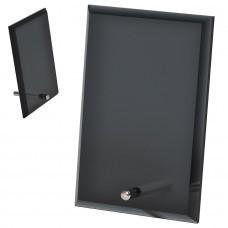 """Стела """"Pride"""" в подарочной коробке,черная, 15,2х10,1х1см,стекло"""