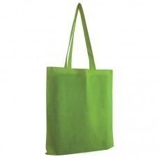 """Сумка для покупок из хлопка """"Eco""""; зеленый; 38х42 см; 100% хлопок; шелкография"""