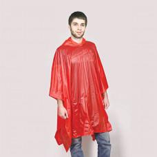 """Дождевик """"AntiRain""""; красный; универсальный размер (в сложенном виде 24х17,5 см.); ПВХ"""