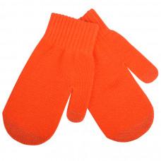 """Варежки сенсорные """"In touch"""",  оранжевый, М, акрил 100%.  шеврон"""