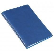 Ежедневник недатированный Foggy, А5,  темно-синий, кремовый блок, без обреза