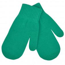 """Варежки сенсорные """"In touch"""",  зеленый, М, акрил 100%.  шеврон"""