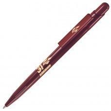 MIR, ручка шариковая, бордо, пластик