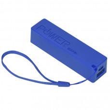 """Универсальное зарядное устройство """"Keox"""" (2000mAh), синий, 9,7х2,6х2,3 см,пластик"""