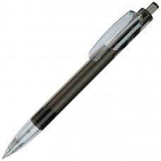 TRIS LX, ручка шариковая, прозрачный серый/прозрачный белый, пластик