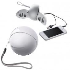 Портативные аудио колонки для смартфона,белые,D=7,8см,пластик