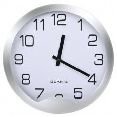 """Часы настенные """"Мегаполис"""", D=30 см, H=4 см, металл, без элементов питания"""